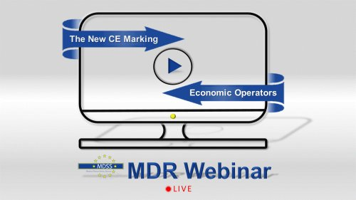 MDSS LIVE Webinar - The New CE Marking & Economic Operators