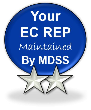Your EC REP – Gold Maintained by MDSS