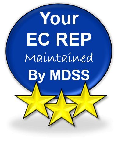 Your EC REP – Maintained by MDSS